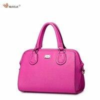 NUCELLE Brand Women S Designer Handbags Elegant Cow Leather Ladies Girls Shoulder Bag Crossbody Bags For