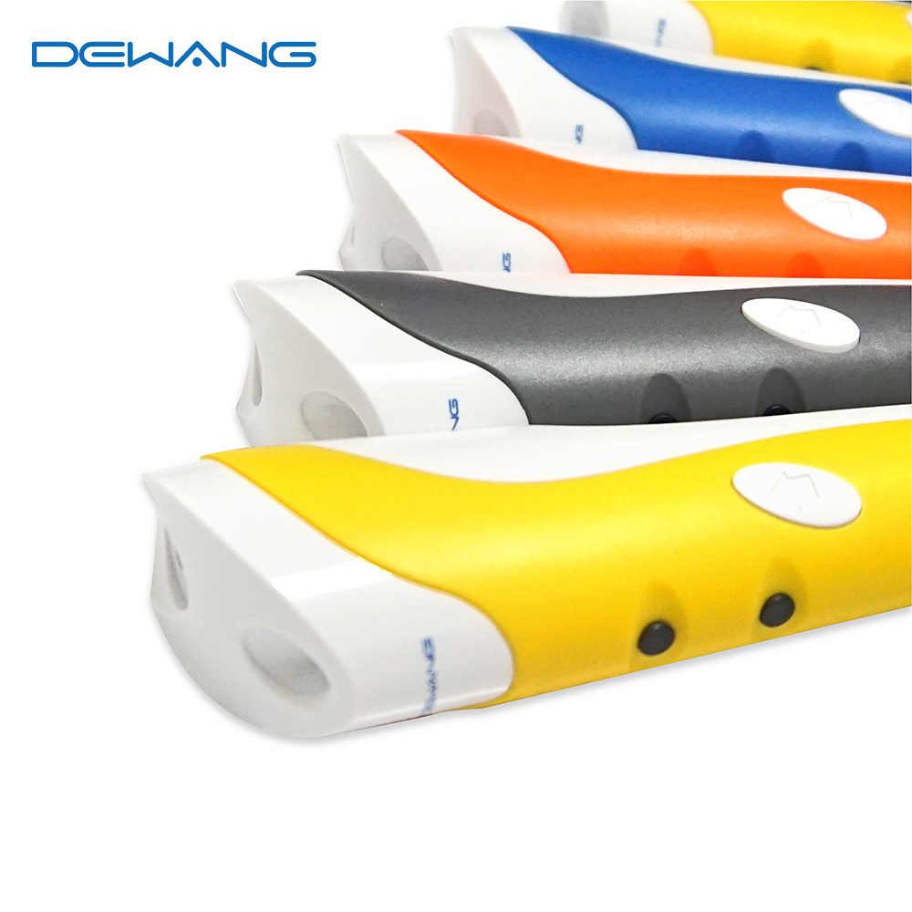 DEWANG 3D พิมพ์ปากกา 200M PLA/ABS Filament 3D เครื่องพิมพ์ปากกาวันเกิดของขวัญ 3D ปากกา Scribble ปากกาโรงเรียนศิลปะ Gadget สำหรับเด็ก