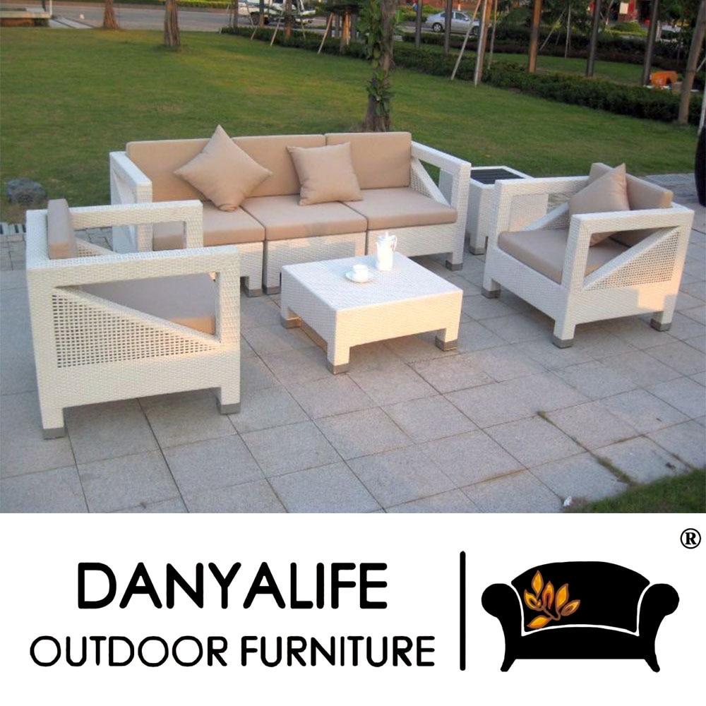 5e7d3dde1869 DYSF D7503 Danyalife Luxury Customization Outdoor Rattan Garden Chairs-in  Garden Sofas from Furniture on Aliexpress.com