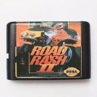 Road Rash II 16 bit MD Cartão De Jogo Para Sega Mega Drive Para Genesis