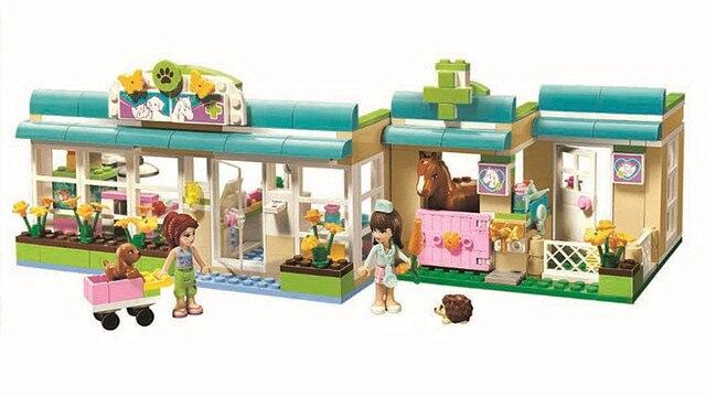 Building Blocks Friends Heartlake Pet Hospital Set Christmas