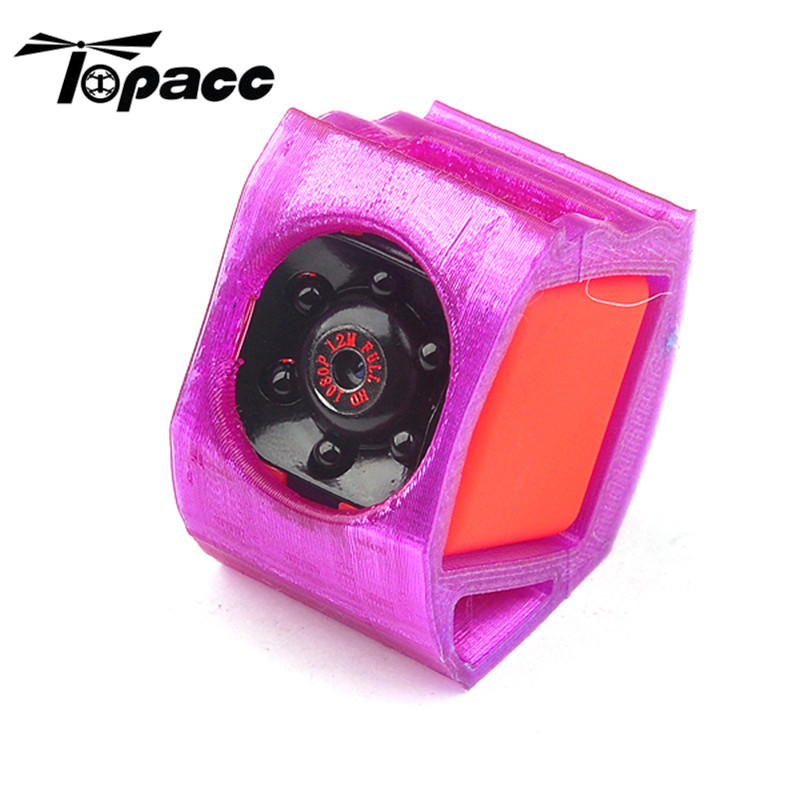 Hot New 3D Printer TPU Camera Mount for SQ11 1080P Damping 20 Degree Elevation Angle 7.2g For RC Quadcopter Parts Accs
