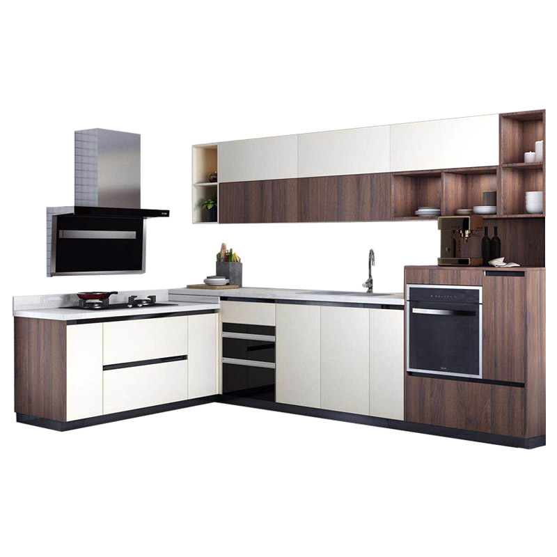 L Shaped Kitchen Cabinets Design Layout