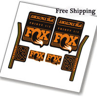 2017 Fox 36 Float Mountain Bike Front Fork Replacement Stickers For MTB Bicycle DH AM Race