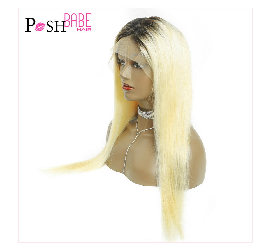 Blonde Lace Front Human Hair Wig (9)