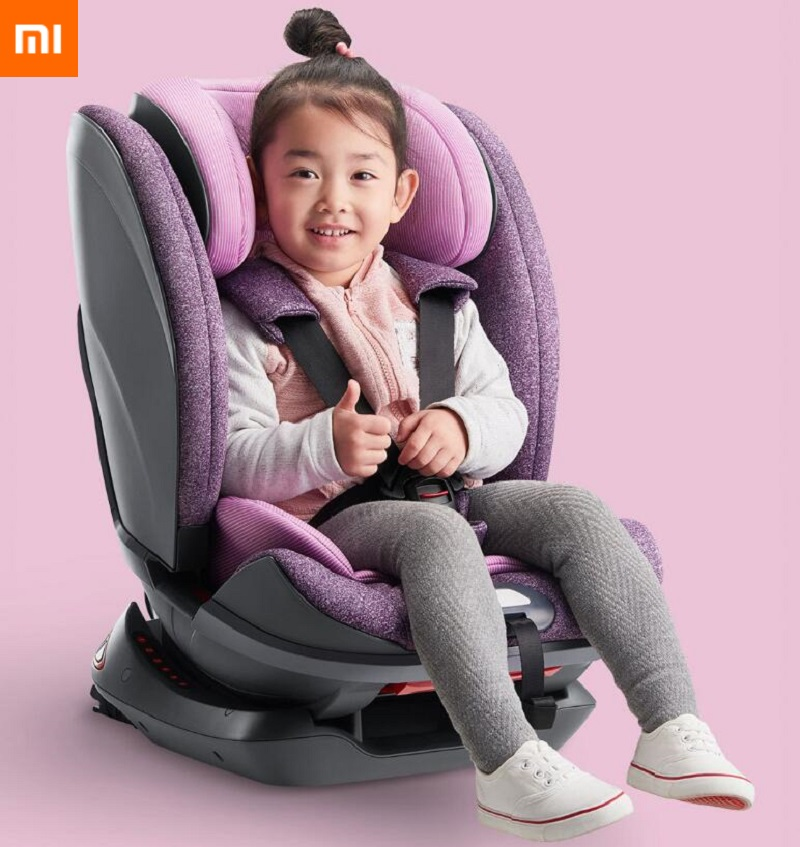 Xiaomi Child Car Seat Comfortable Baby Kids Car Safety Seat Booster Chair ISOFIX Interface Stable Anti Flip Child Car Seats