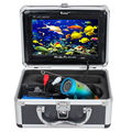 "Eyoyo Original 30M Professional Fishing Camera Underwater Fish Finder 7"" Color Monitor 1000TVL HD CAM 12pcs White LED"