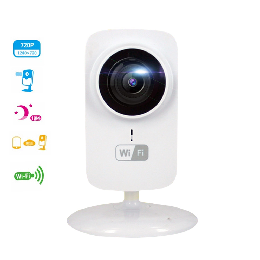 Jivision Mini Ip Camera Wifi 720p Wireless Webcam Baby