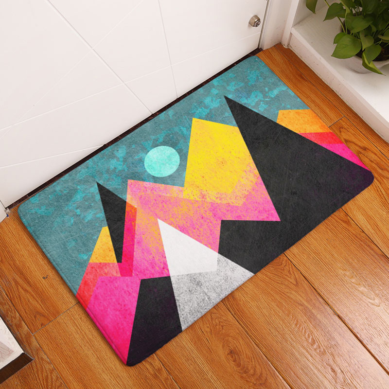 Aliexpress.com  Buy Monily Wholesale Nordic Anti Slip Door Mat Waterproof Painting Carpets Bedroom Rugs Decorative Stair Mats Home Decor Crafts from ... & Aliexpress.com : Buy Monily Wholesale Nordic Anti Slip Door Mat Waterproof Painting Carpets Bedroom Rugs Decorative Stair Mats Home Decor Crafts from ...