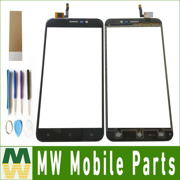 1PC/Lot 5.5inch For Cubot Note S Touch Screen Digitizer Replacement Part Black White Gold Color With tools+ Tape