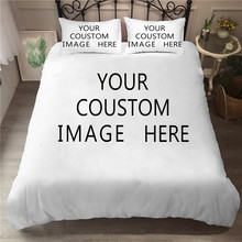 Bedding Set 3D Printed Duvet Cover Bed Set Custom Pattern Customize Home Textiles for Adults Bedclothes with Pillowcase