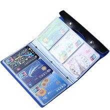 Mode 108 Slots Kreditkarteninhaber Taschen Gute Qualität Leder Bussiness Karten Fall Bank Id Kartenhalter Keeper Heißer LS1044
