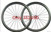 Углерода ямочка колеса UD матовая ширина 25 мм PowerWay углерода велосипед ямочка Clincher 45 мм ямочка колеса 700C ямочка колесная