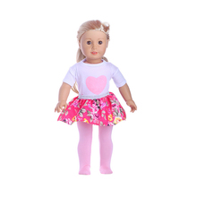 18Doll Clothes-Cartoon Clothes for My Baby doll-18 inch /Life/Generation doll Outfit-Toys Accessories Girl Gifts