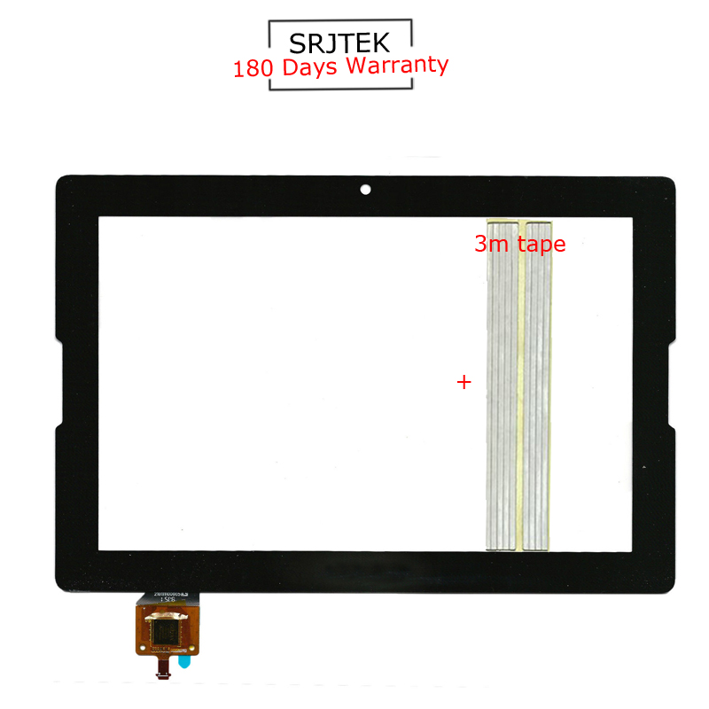 For New Lenovo Tab A10-70 A7600 A7600-F A7600-H B0474 Replacement Touch Screen Digitizer Glass 10.1-inch Black
