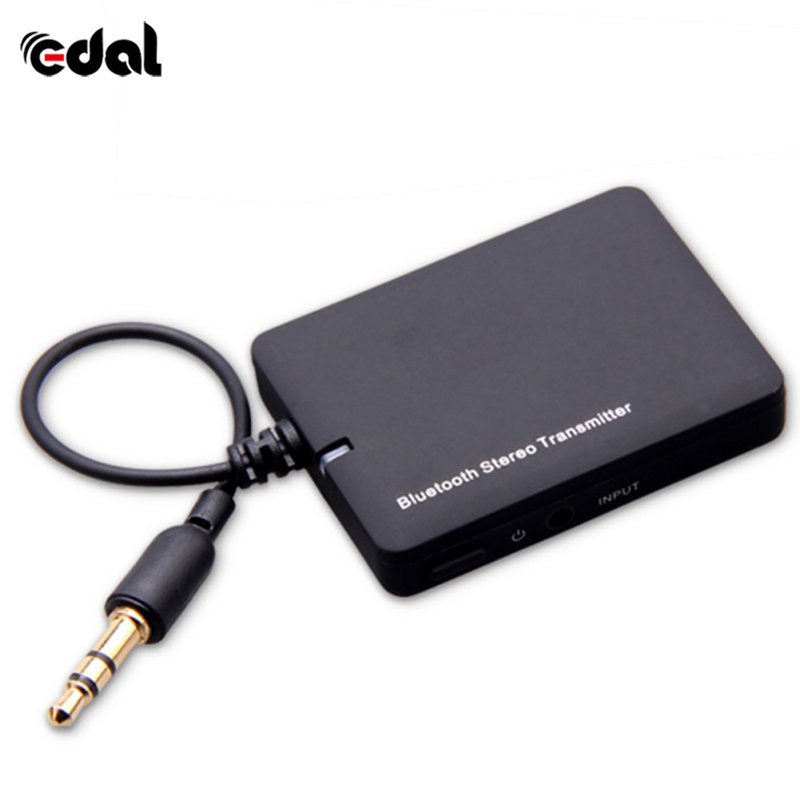 New Mini 3.5mm Bluetooth Audio Transmitter A2DP Stereo Dongle Adapter for TV Mp3 Mp4 PC  ...