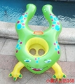 High Quality Frog Cartoon Baby Swimming Float Ring Mother and Child Swimming Circle Double Swimming Baby Seat Rings Pool Rings