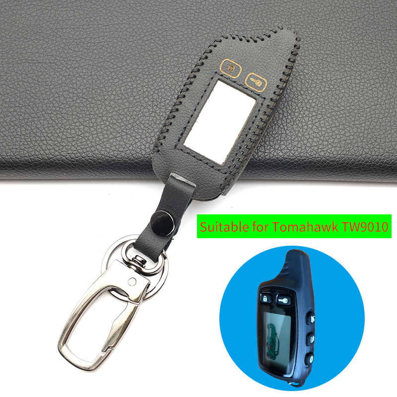 Tw9010 Lcd Remote Control Key Fob Chain Keychain For Russian Version Two Way Car Alarm System Tomahawk Tw-9010 Free Shipping Alarm Systems & Security