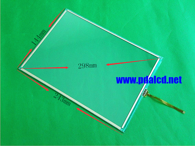 Original New 11 inch Touch screen 5801-8010-11001 Touch Panel TP-110F-01 UG Man-machine interface digitizer panel new 12 1 inch 258mm 200mm touch screen for n010 0554 x225 01 man machine interface 258 200mm screen digitizer panel
