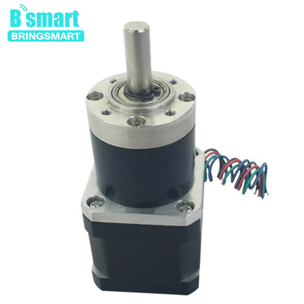 Bringsmart PG36 42BY DC Geared Motor Hybrid Planetary Reduction Machine High Torque Worm Stepper Electric Motor With Gearbox