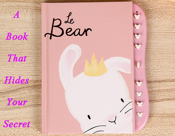 2020 Children Coded Lock Planner Diary Netbook Privacy Protection School Prizes Office Stationery