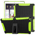 Armadura híbrido rugged hard tampa do suporte da pele para o ipad air 2 ipad 6 Moda Dupla Camada 2 in1 À Prova de Choque Heavy Duty Híbrido Hard Case