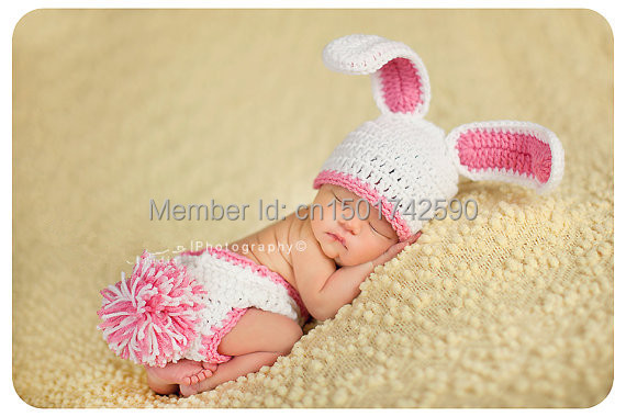 6dd9be37bb9 Baby Girl Bunny Hat ORIGINAL DESIGNER Too Cute Newborn Baby Boy or Girl Crochet  Bunny Hat