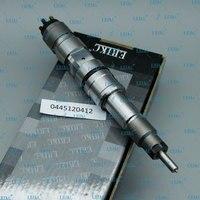 Erikc 0 445 120 412 injeção de peças sobresselentes do trilho comum alta pressão 0445 120 412 substituição injector combustível bico 0445120412