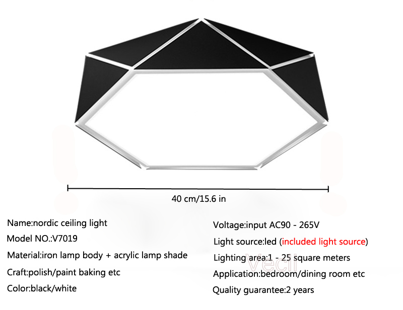 Geometry ceiling light (25)