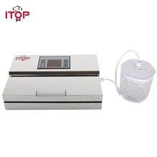 ITOP вакуумная герметичная коробка для хранения продуктов для вакуумного упаковщика 700 мл/1400 мл/2000 мл упаковочная коробка для сохранения свежести пищи Кухонные гаргетсы