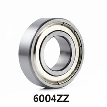 1pcs/lot 6004ZZ Deep Groove Ball Bearing 6004-ZZ 6004ZZ 20*42*12mm 20*42*12 High Quality(China)
