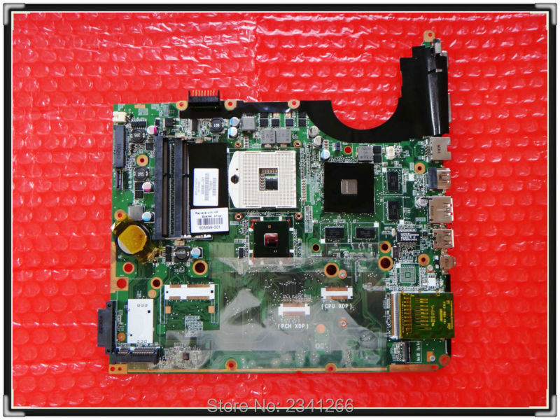 605699-001 for HP PAVILION for DV7 DV7-3000 laptop motherboard DV7-3000 NOTEBOOK PM55 fully tested and 100% test