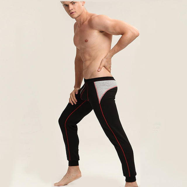 Aliexpress.com : Buy New Men's Long Johns Cotton and Spandex Thin ...