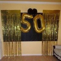 Золотой металлик Шторы большой семизначный номер Шарики 10 20 30 40 50 60 70 80 лет для взрослых на день рождения Юбилей украшения питания