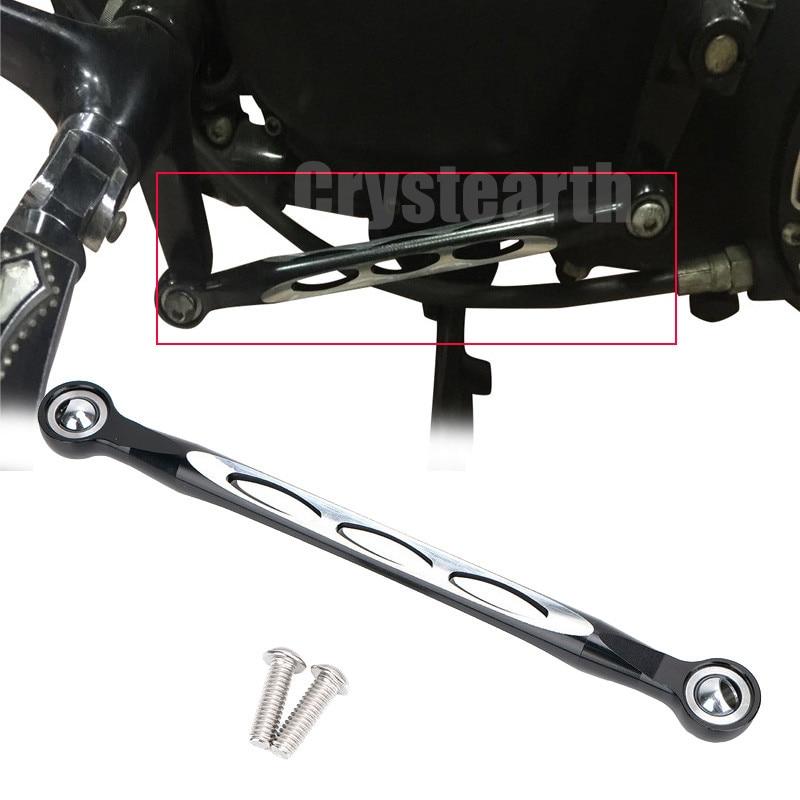 Black CNC Gear Shifter Shift Linkage Hollow Deep Cut Lever For Harley Sportster 883 1200 XL Custom 2004 2017 2005 2006 2007 2008