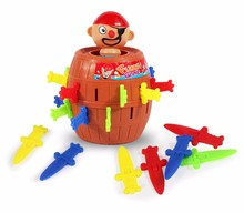 arrel insert game spoof pirate barrel toys interesting desktop party game toys
