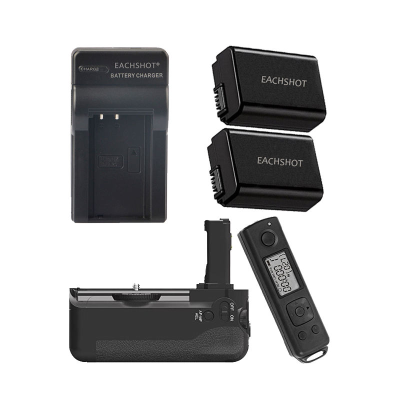 MEIKE font b Wireless b font Control Battery Grip for Sony A7 A7r A7s as VG