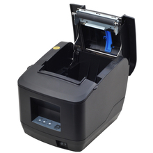 80mm Thermal Receipt POS Printer IssyzonePOS Kitchen Hang Up USB Serial Lan Auto Cutter ESC POS Support DHCP Supermarket Retail usb and serial interface 80 mm thermal receipt printer with cutter support cash drawer print for sale auto cut 80 serial printer