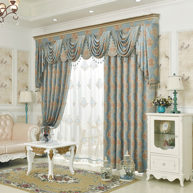 valance curtains for living room from reliable curtains for suppliers
