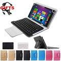 2 Подарки для Samsung Galaxy Tab A 10.1 T580 T585/Tab 2 10.1 P5100 P7500 УНИВЕРСАЛЬНЫЙ Беспроводная Bluetooth Клавиатура Язык Подгоняет