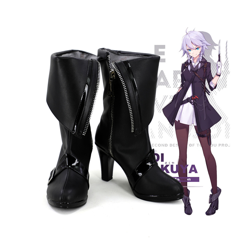 Kagerou Project Touhou Project Flandre Scarlet  Izayoi Sakuya Cosplay Boots Shoes Custom Made