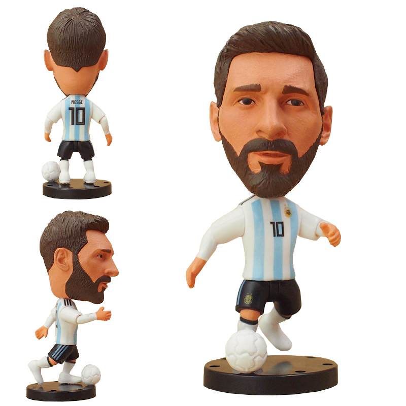 Soccerstarz Russia Football Sports Souvenirs 7cm Classic Soccer Star Doll Home Kit Figures for Collection Fans Gift