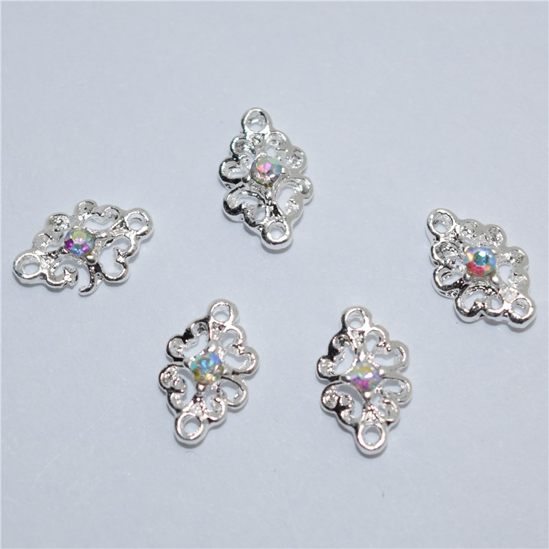 10pcs 3d nail jewelry decoration nails art glitter rhinestone for 3d nail decoration
