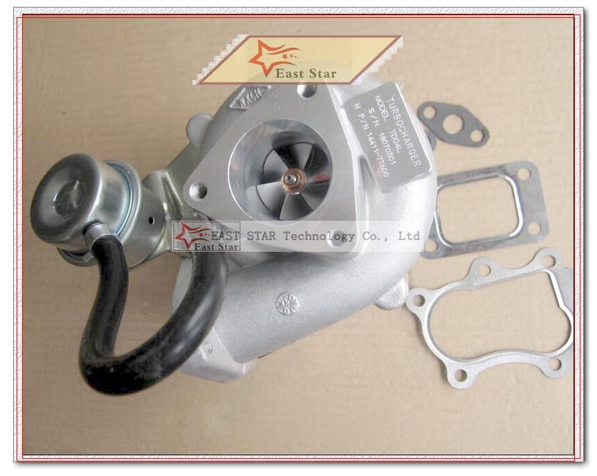 TD04L 14411-7T600 49377-02600 4937702600 49377 02600 Turbo Turbocompresseur Pour NISSAN Pickup D22 Navara NS25 QD32 QD32T 3.2L Joint