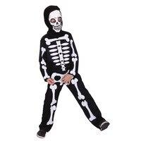 Schedel Ghost Kinderen Cosplay Hallowean Jongen Masquerade Party Terreur Pak Kids Skelet Kostuum CQB0098