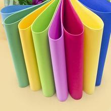 10 hojas gruesas Multicolor A4 esponja EVA papel de espuma niños hecho a mano DIY artesanía a mano papel de Color