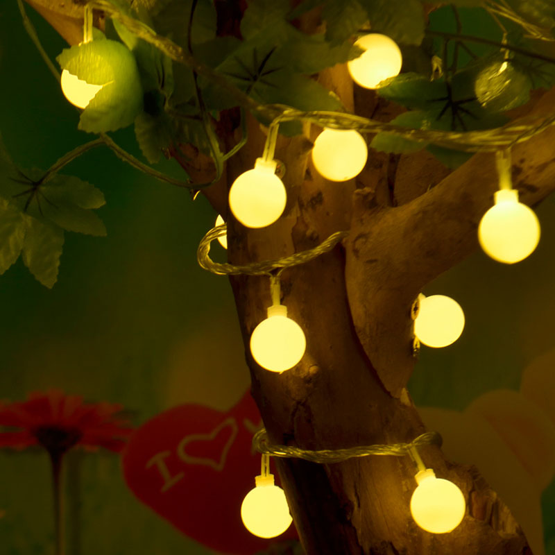 Alibaba best sellers High quality 5M ,10M and 25M waterproof christmas decorative wedding party led ball string light