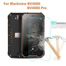 フルカバーフル接着剤強化ガラス blackview BV4000 保護フィルム 9 h blackview 用 BV4000 プロ