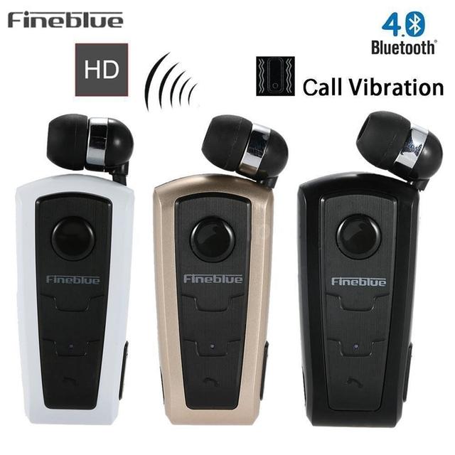 Fineblue F910 Mini portable Wireless Bluetooth Earphone Headset In-Ear Vibrating Alert Wear Clip Hands Free Earphone For Phone