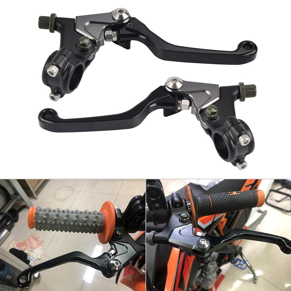 CNC Short Brake Clutch Lever For Yamaha Suzuki Kawasaki Honda CR XL XR KX KDX CR XR XL YZ IT XT TT RT MX DT RM PE DR TS TM-in Levers, Ropes & Cables from Automobiles & Motorcycles    1